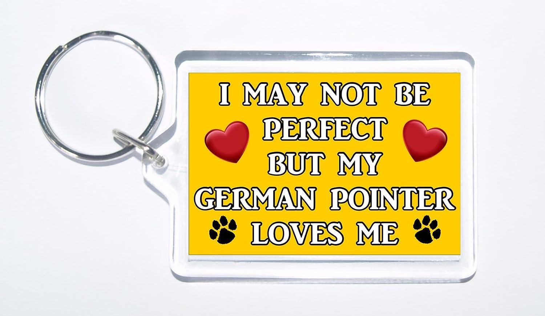 I puede que no sea perfecto pero mi alemán puntero Loves ME ...
