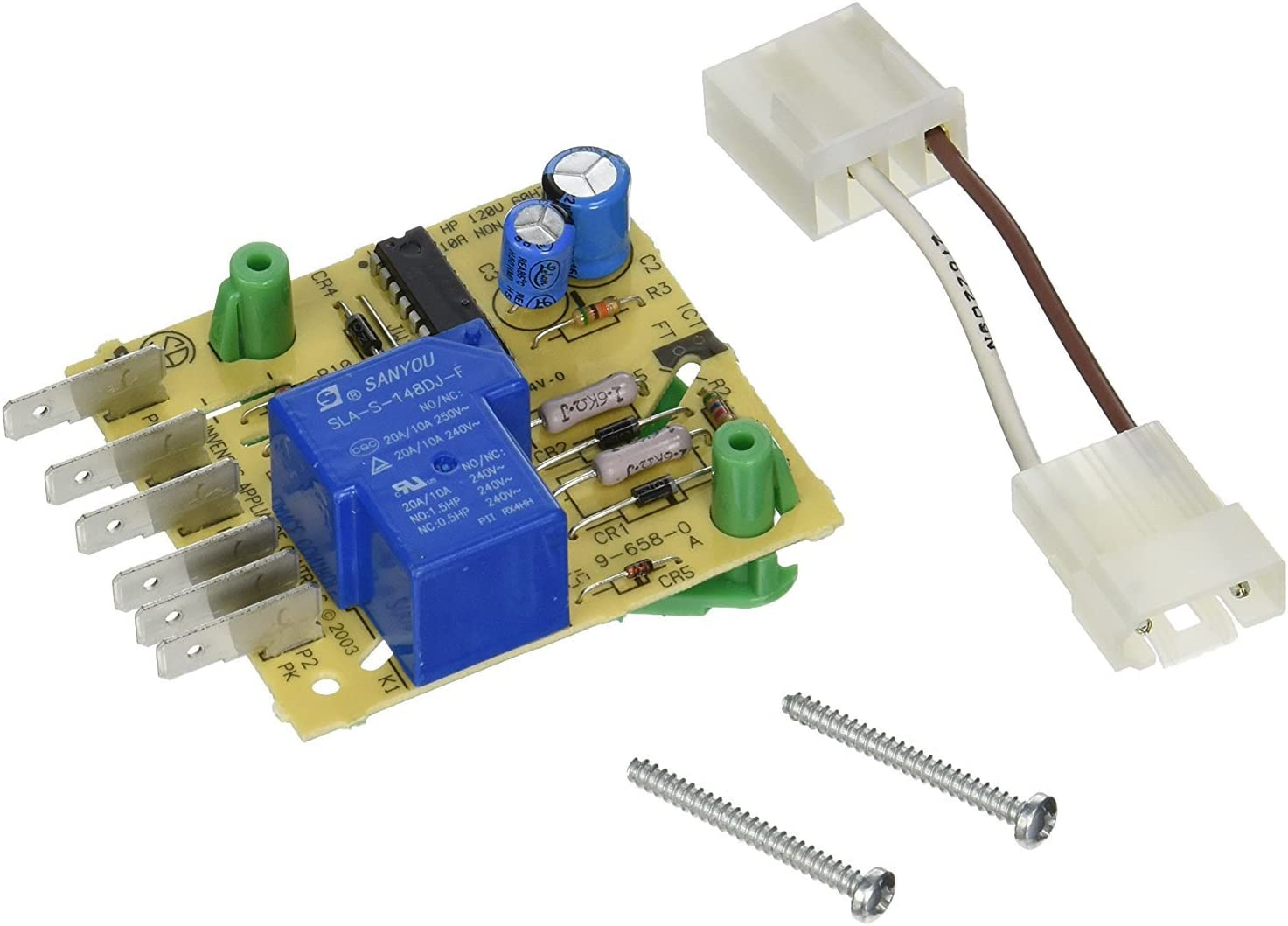 Edgewater Parts AP3109394, PS372261 Defrost Control Board Compatible With Whirlpool Refrigerator