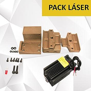 MadridGadgetStore® Kit Pack Láser Grabadora Cortadora ...