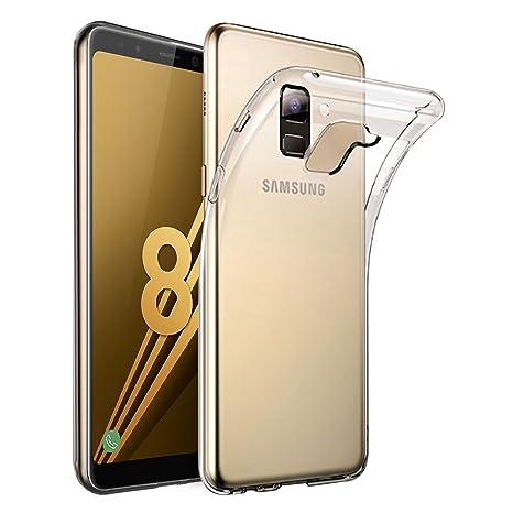 Coque intégrale Or Galaxy A8 2018 4t3hhC