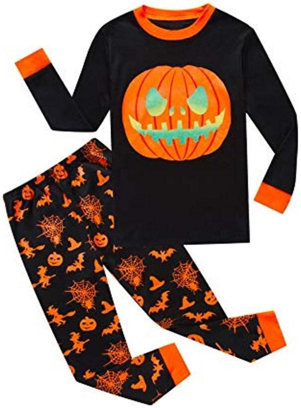 Novetly Halloween Pumpkin Pie Printing Shirts Drawstring Shorts Set for Women,Nightwear Pajamas Sportwear
