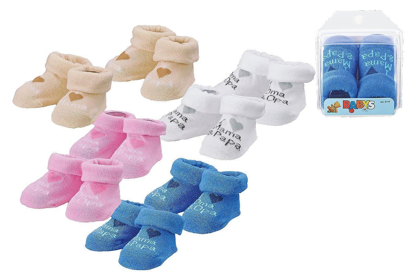 Wowarat Baby Mädchen Jungen Erstlings Söckchen Strümpfe Sneaker Socken für 0-5 Monate in Geschenkbox