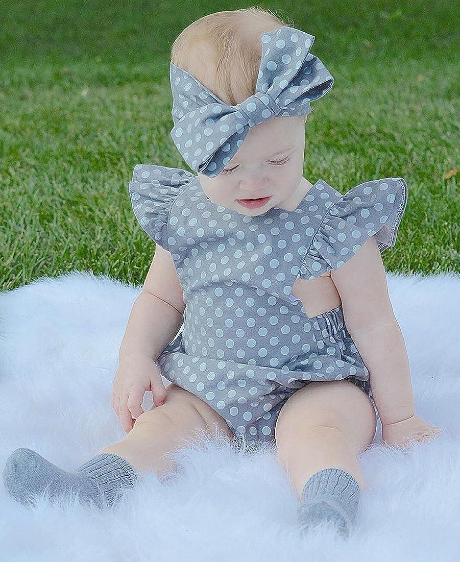 Marsherun Infant Babys Boys Girls Treble Maker Clef Musical Long-Sleeve Rompers Playsuit