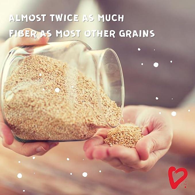 1kg - ¡Nuevo! - Living Earth - QUINOA BLANCA PREMIUM ORGÁNICA - 1kg - Fuente de vitaminas de origen vegetal y de alto nivel biológico.
