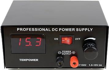 DC Regulated Power Supply 15V 2-Amp BST-1502D