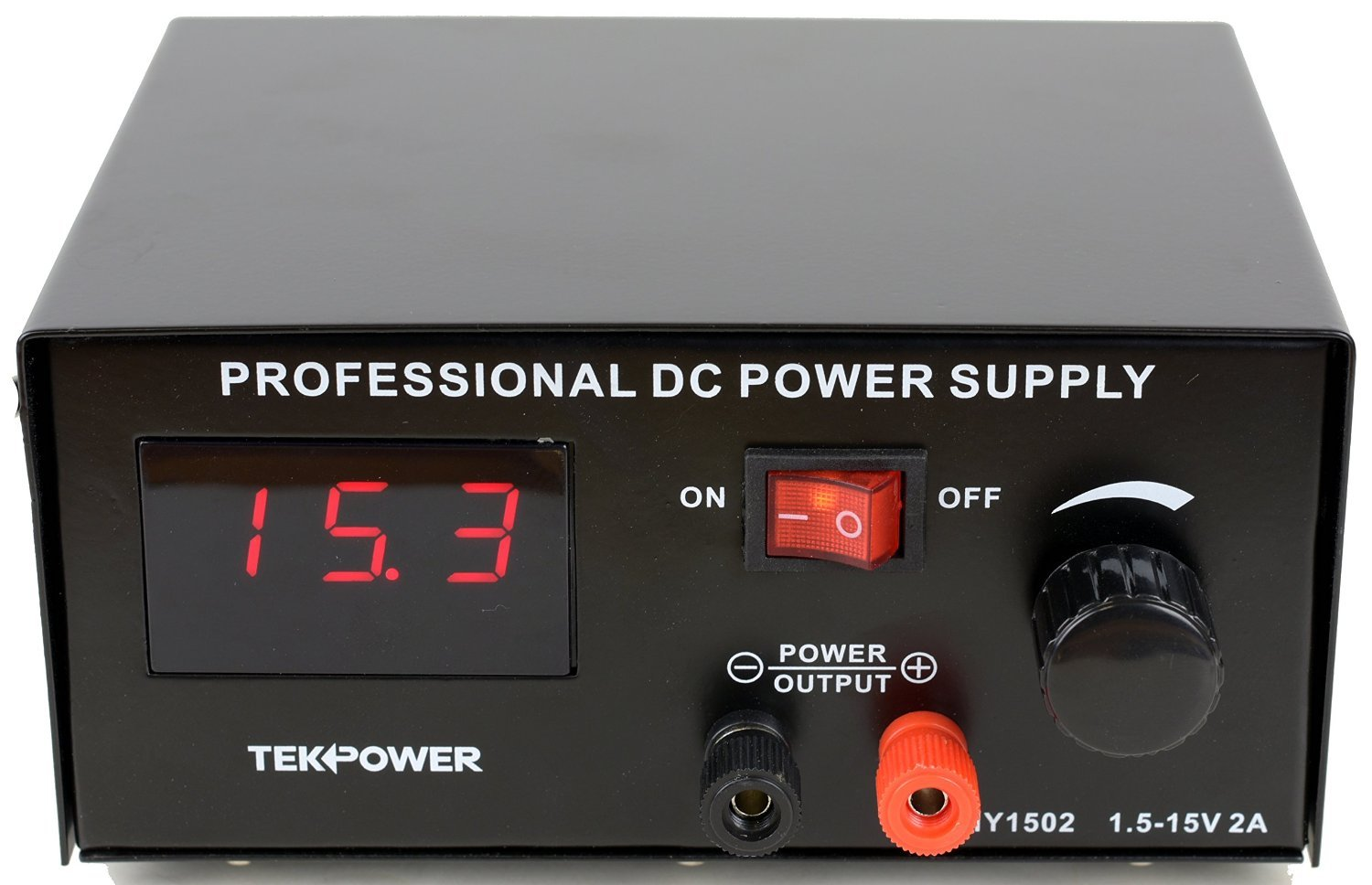 Tekpower Hy 1502 Dc Power Supply 15 Volts 2 Amp 0 30v0 2a Adjustable Voltage And Current Regulator For Tattoo More Home Audio Theater