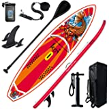 Feath-R-Lite Inflatable Stand Up Paddle Board 11'6''x33''x6'' Ultra-Light (20.7lbs) SUP with Paddleboard Accessories,Fins ,A
