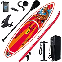 Feath-R-Lite Inflatable Stand Up Paddle Board 11'6''x33''x6'' Ultra-Light (20.7lbs) SUP with Paddleboard Accessories…