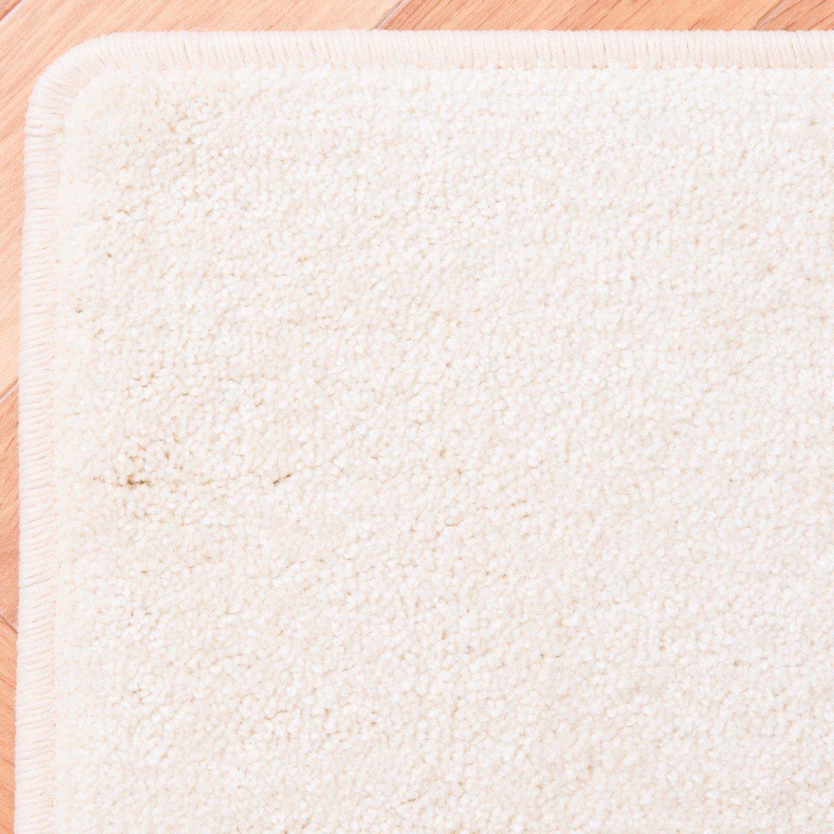 Havatex Velours Velours Velours Teppich Kontor - Farbe wählbar   schadstoffgeprüft pflegeleicht   robust strapazierfähig Wohnzimmer Kinderzimmer Schlafzimmer, Farbe Silber, Größe 80 x 200 cm B00ITA8SD4 Teppiche f7c058