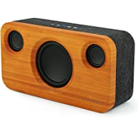bluetooth Speaker, ARCHEER 25W Wireless Stereo Speaker with Booming Bass, 8800mAh Rechargeable Battery, 40 Hours Playtime, Portable Wood Speaker with Dual 5W Drives and 15W Subwoofer, Built-in TWS for Home, Theatre, Party and More