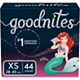Goodnites Bedwetting Underwear for Girls, XS, 44 Ct, Packaging May Vary