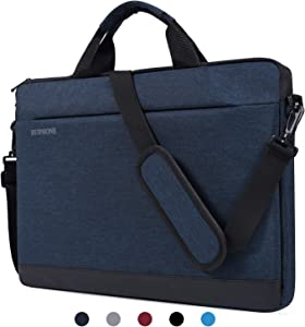 "15.6 Inch Laptop Shoulder Bag Laptop Briefcase Messenger Bag Case Sleeve Compatible Acer Predator Helios 300/Aspire E 15, HP Pavilion X360 15.6"", ASUS VivoBook, LG MSI HP Lenovo 15.6 inch Notebook Bag"