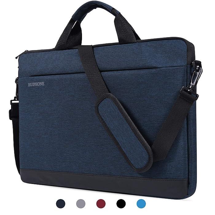 """14-15 Inch Laptop Shoulder Bag Waterproof Notebook Sleeve Case Compatible Acer Chromebook 14, HP 14 inch Chromebook,HP Stream 14"""" Laptop, LG Gram 14,ASUS ZenBook 14"""",HP Lenovo Samsung Acer - Dark Blue"""
