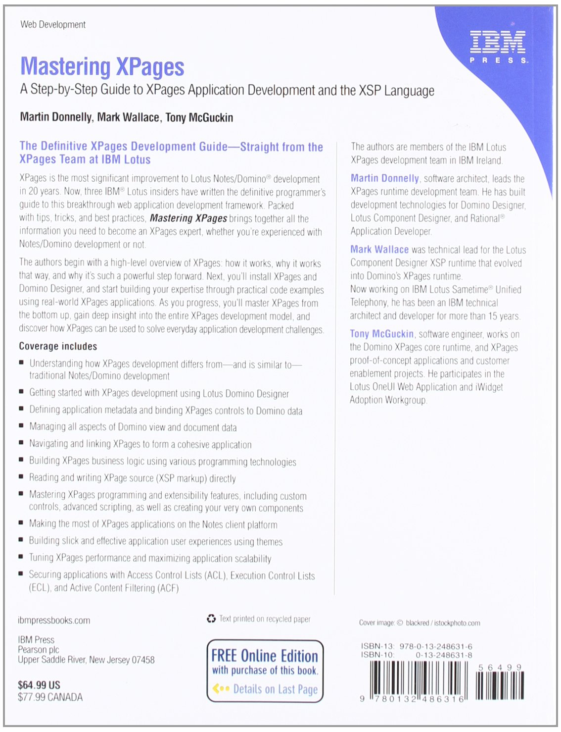 Mastering xpages a step by step guide to xpages application mastering xpages a step by step guide to xpages application development and the xsp language amazon martin donnelly mark wallace tony mcguckin fandeluxe Epub