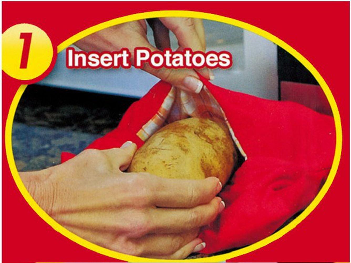 Bolsa para Patatas en Microondas bolsa de patatas EXPRESS horno ...