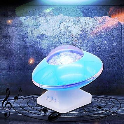 LYMS ExtrañoCreativa Aurora Boreal Starlight Proyección Ondas ...