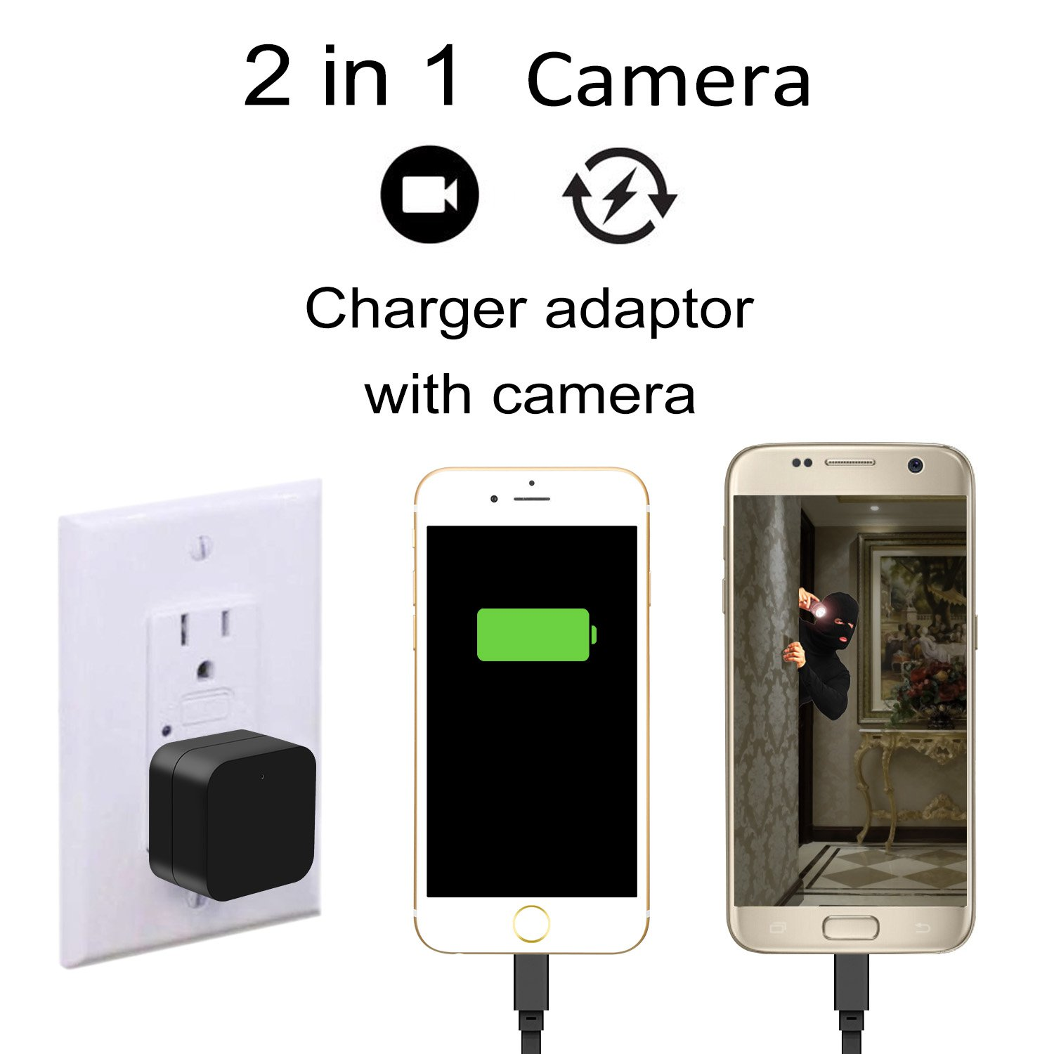Hidden Camera Mini Hd Spy 1080p Wifi Remote View Motion The Guitar Wiring Blog Diagrams And Tips Telecaster Directthrough Detection Charging Phones Home Security Photo