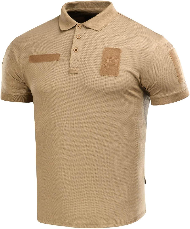 Coolmax Tactical Polo Shirt Duty Uniform Moisture Wicking Short Sleeve Mens T-Shirt