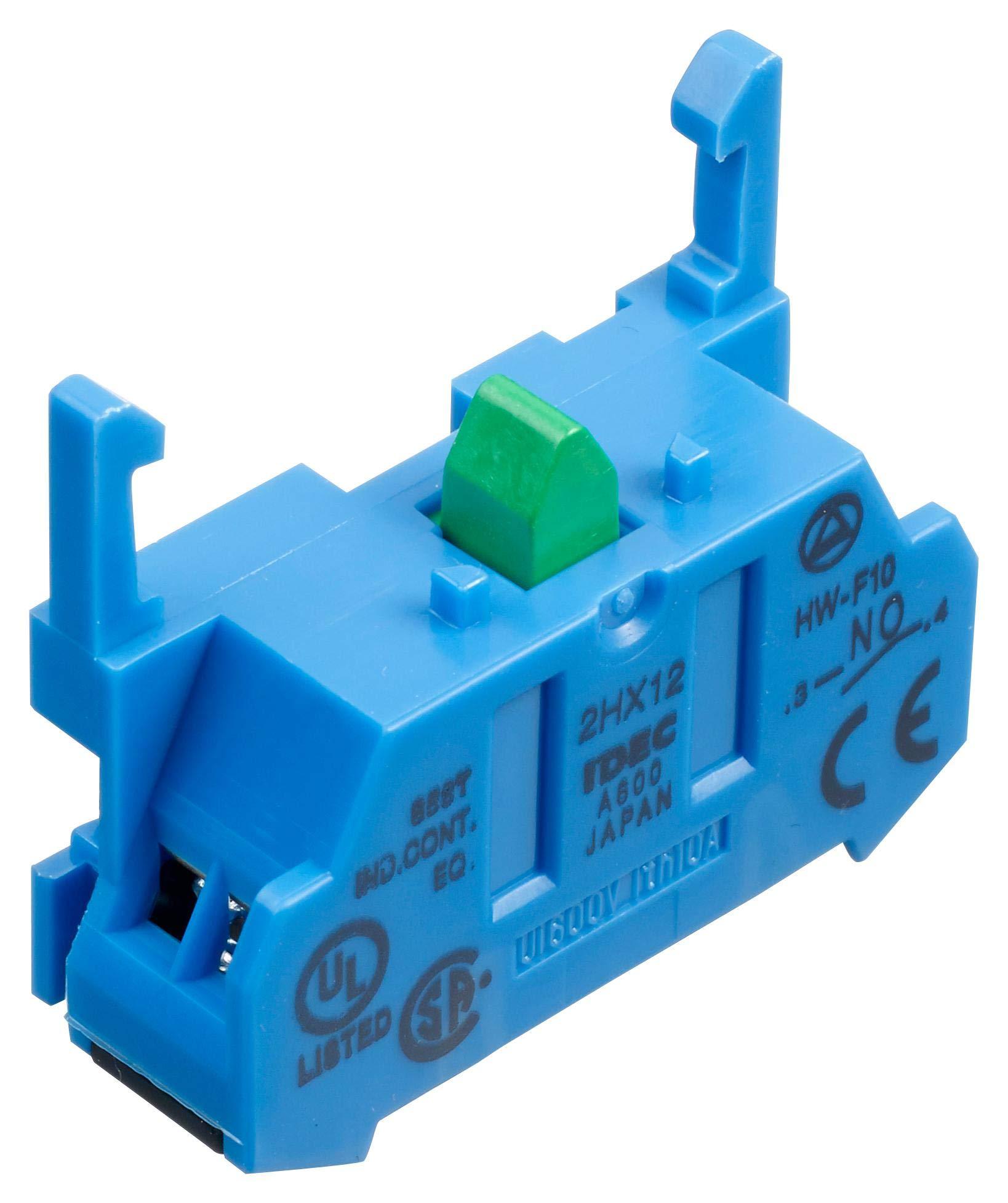 HW-F10 - CONTACT BLOCK, 1 POLE, 10A, 240VAC (Pack of 10) (HW-F10)