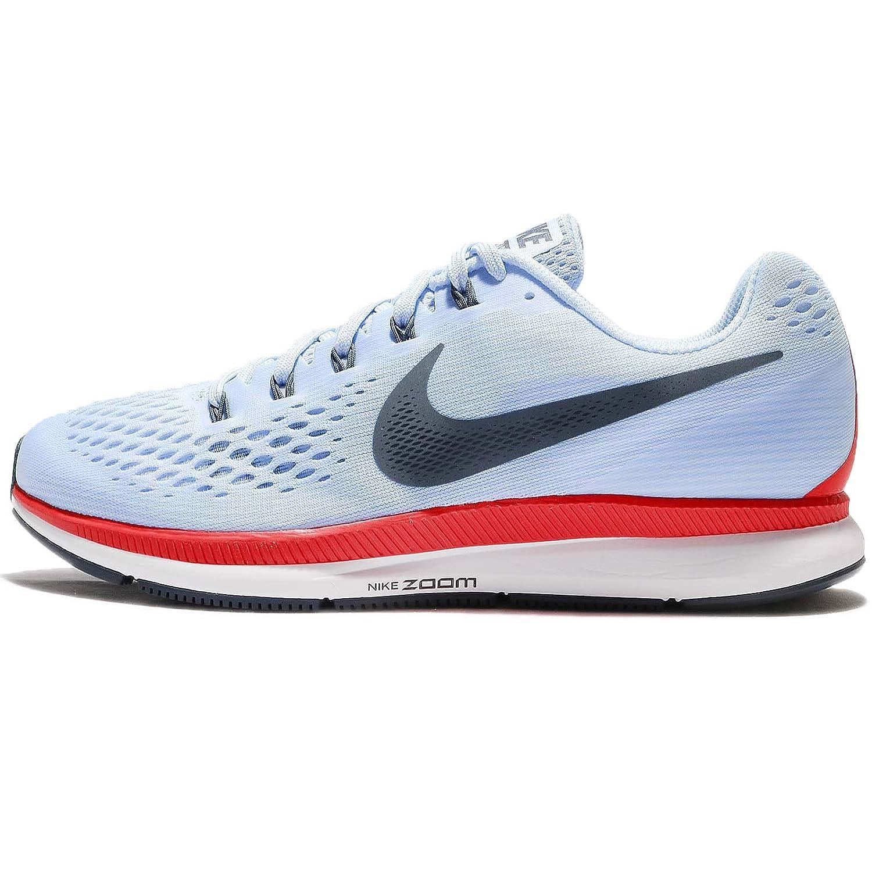 detailed look c1371 690e3 Nike Air Zoom Pegasus 34 Mens Running Trainers 880555 Sneakers Shoes (UK 6  US 7 EU 40, ice Blue Fox Blue 404)