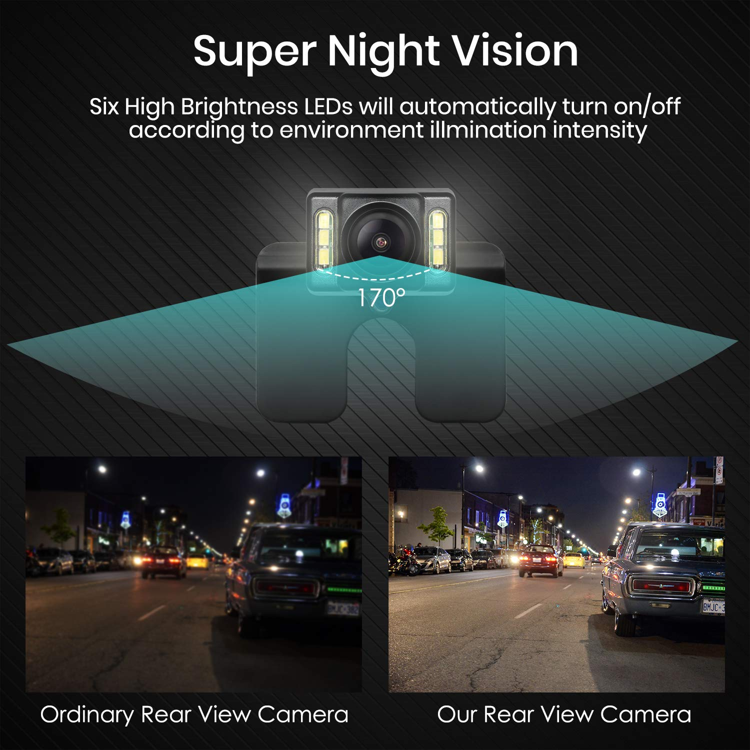 Auto Vox M1w Wireless Backup Camera Kitip 68 Waterproof 89 Toyota Camry Fuel Filter Location Led Super Night Vision License Plate Reverse Rear View Back Up Car Camera43 Tft Lcd