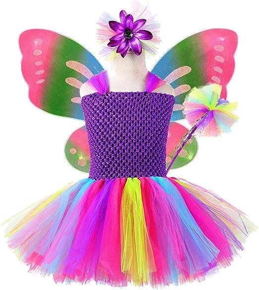 Amazon.com: Tutu Dreams Disfraz de mariposa de cumpleaños ...