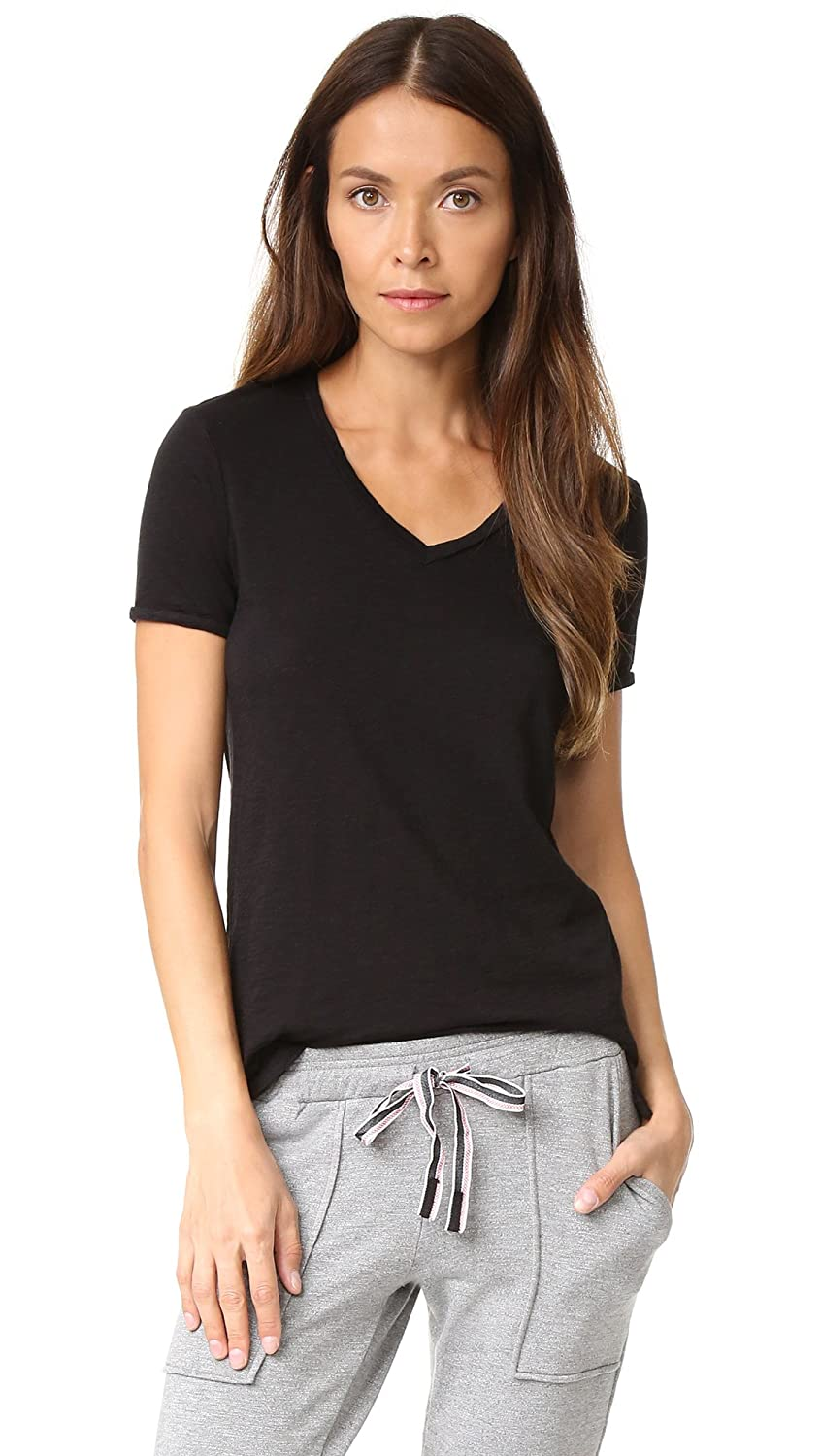 Stateside Women's Slubbed V Neck Tee