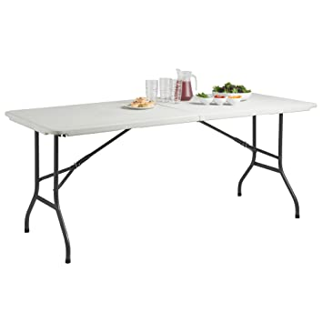 2.5FT 4FT 5FT 6FT Folding Trestle Table Garden Party Pinic Banquet Table UK