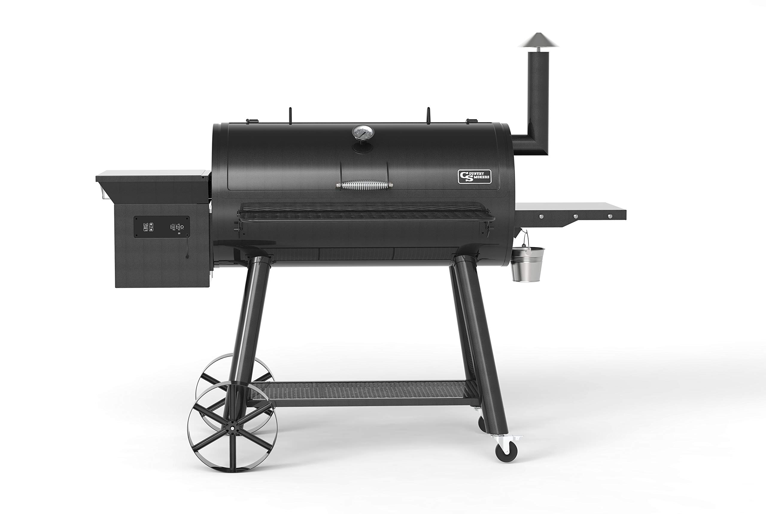 Country Smokers CS2454 Pellet Grill, Black by Country Smokers