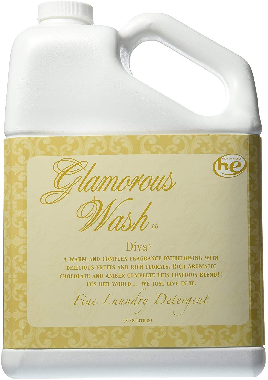 TYLER Gallon Glam Wash Laundry Detergent, Diva, Liquid, 128 FL Oz, (3.8L) 95 HE Loads