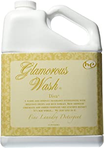 TYLER Gallon Glam Wash Laundry Detergent, Diva, Liquid, 128 FL Oz, (3.8L) 95 HE Loads