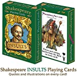 Prospero Art Shakespeare Insults Playing Cards