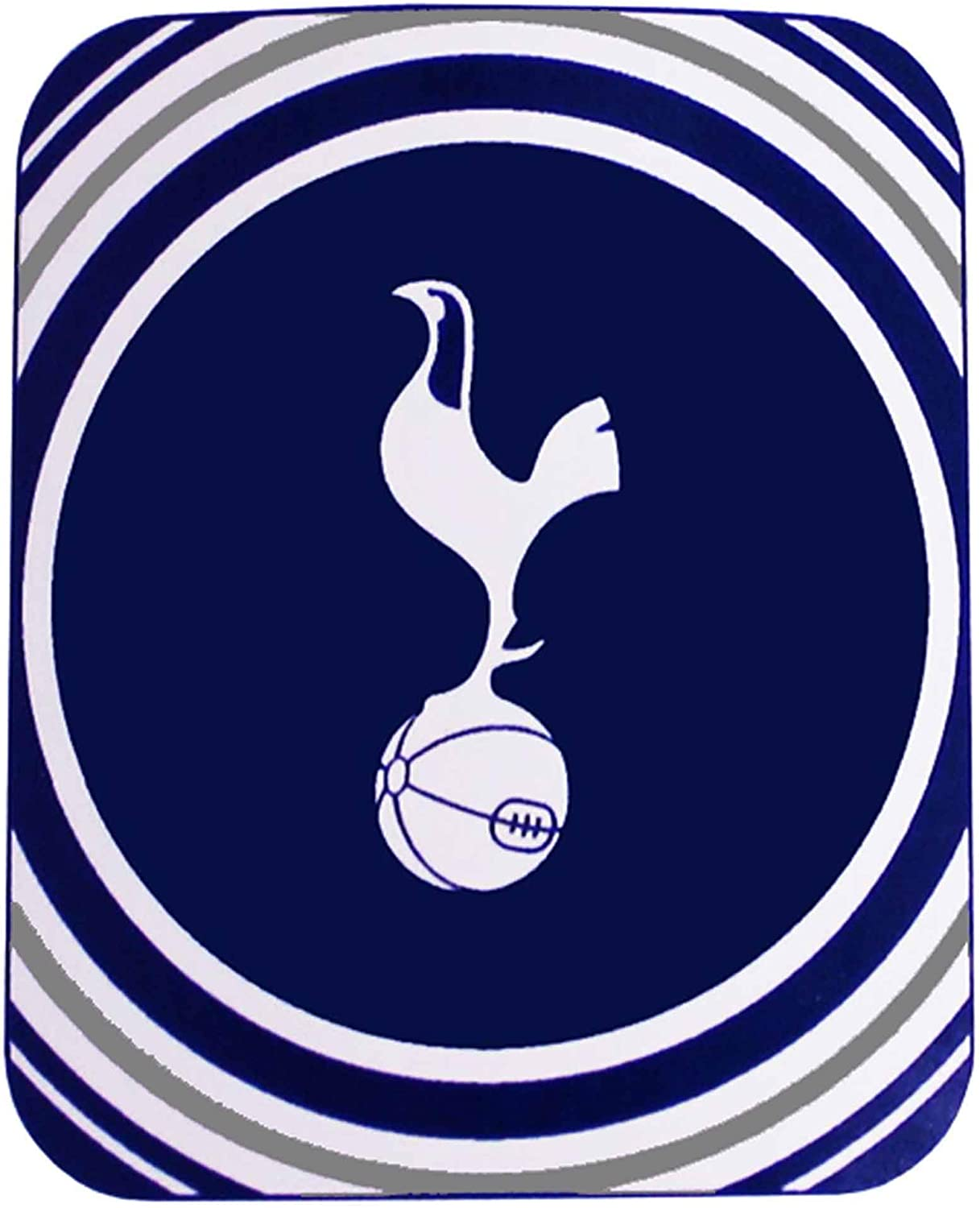 Official Tottenham Hotspur Spurs Fleece Blanket Throw For The Home Or Car 100 Polyester 125cm X 150cm Amazon Co Uk Kitchen Home