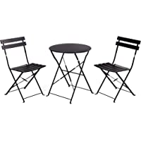 Grand patio Premium Steel Patio Bistro Set, Folding Outdoor Patio Furniture Sets, 3 Piece Patio Set of Foldable Patio…