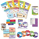Your Baby Can Learn! - British Deluxe Kit - The Acclaimed Early Learning Program from the USA - DVDs, Books, & Flash Cards - Best Reading, Phonics & My First Words Book & DVD Set for Babies & Toddlers