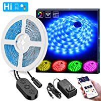 Deals on Minger DreamColor 16.4ft LED Strip Lights App Controlled