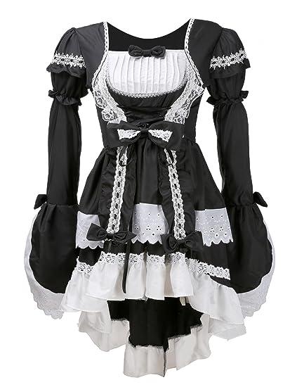 Très Chic mai Landa Femme gothique femme Carnaval de Cosplay Costume Robe  du soir d7dbbd1f92d