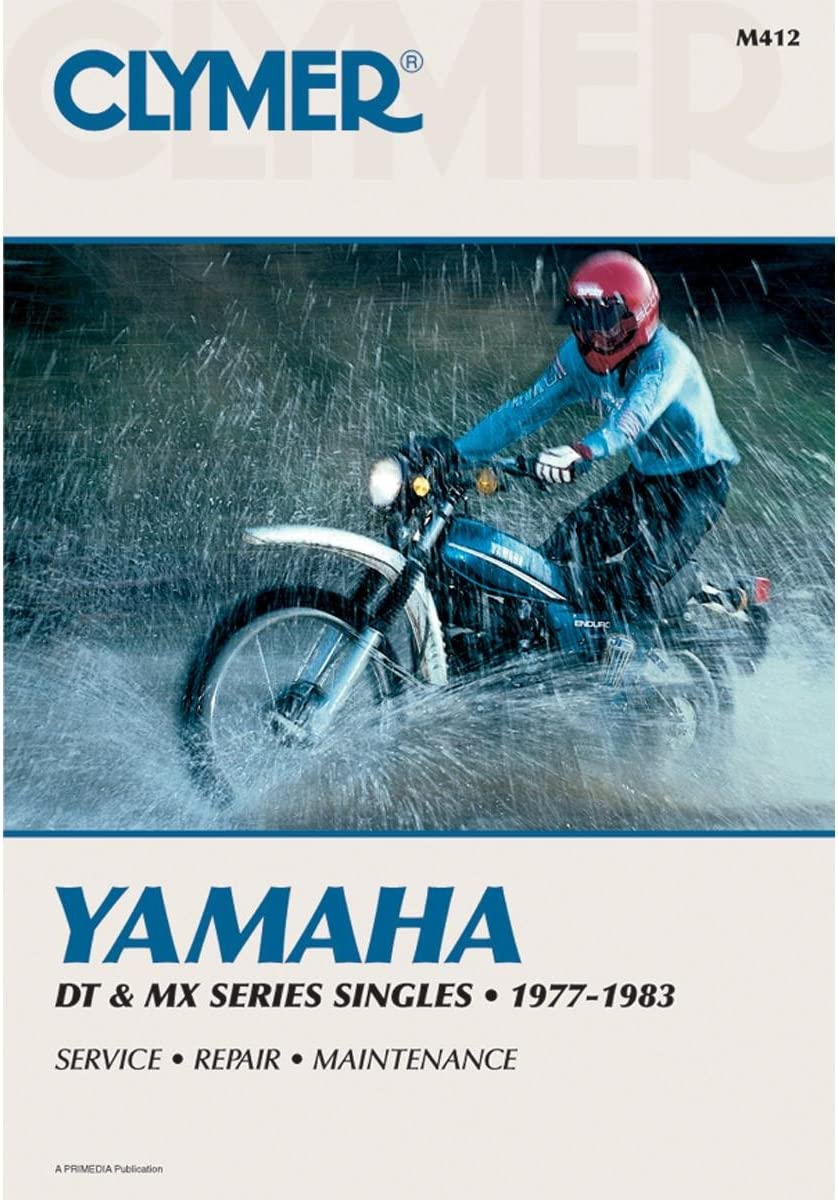 Parts & Accessories 1978-1981 Yamaha DT125 Repair Manual Clymer ...