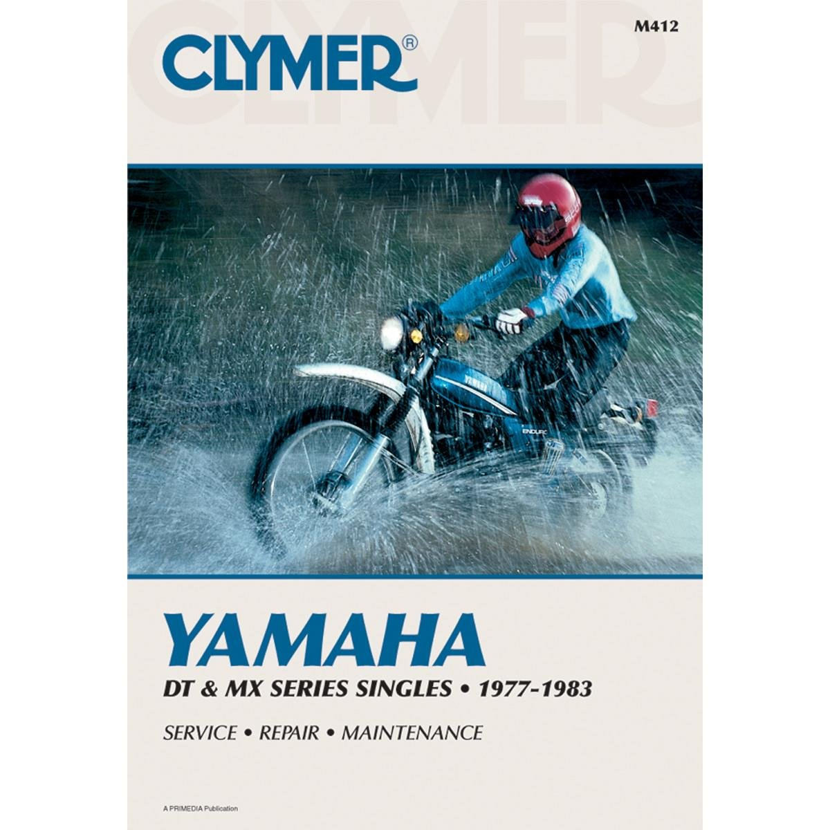 Clymer Repair Manual For Yamaha Dt Mx100 400 77 83 175 Wiring Diagram Electronics