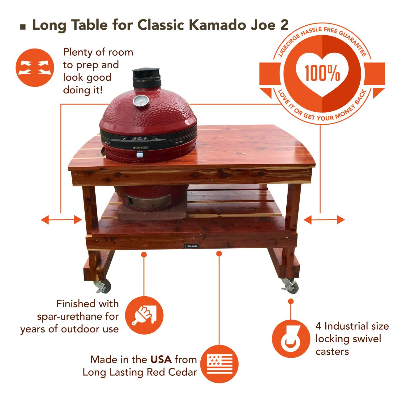 Kamado Joe Table For Sale from Peopleforcarlandrews