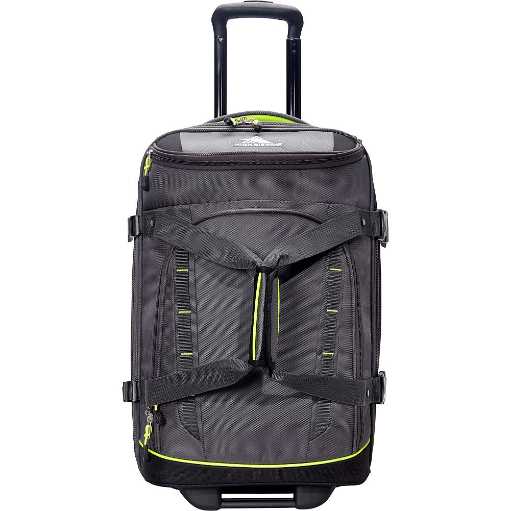 High Sierra Volusia 22'' Carry-On Upright Wheeled Duffel