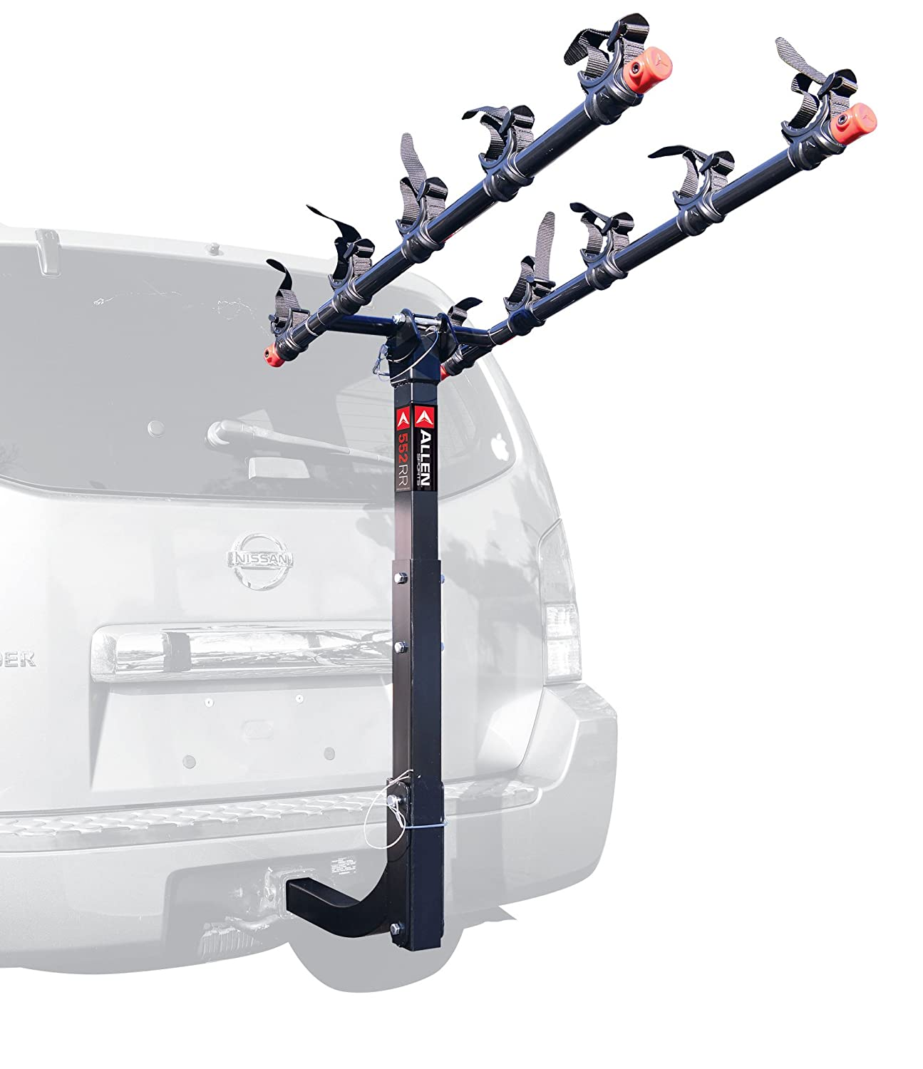 rack heavy lbs steel bike car basket travel duty carrier luggage bicycle cargo suv itm for