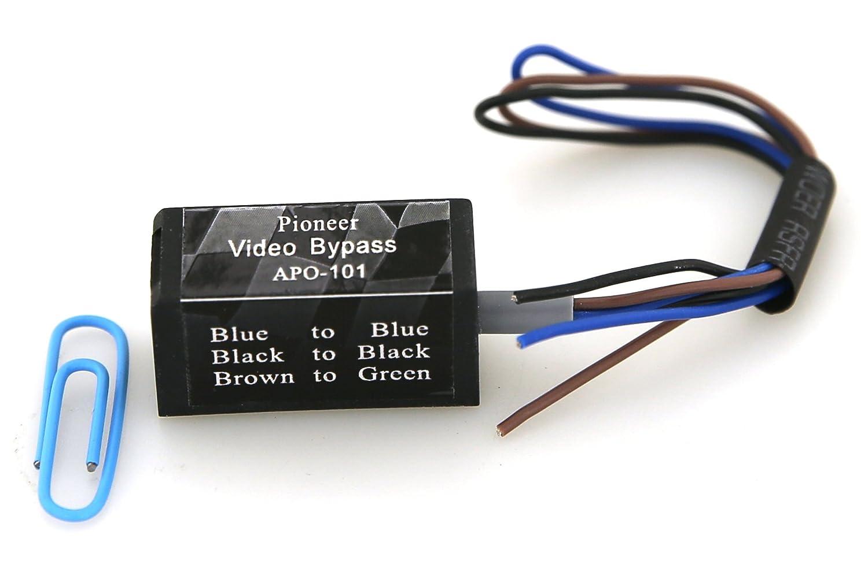 Pioneer Wiring Harness Universal : Pioneer avx p dvd wiring harness stereo
