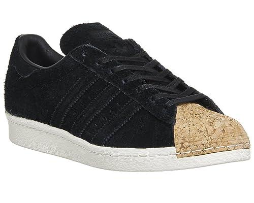 new styles 105a4 57c5c Zapatillas adidas - Superstar 80s Cork W negro negro blanco talla  40   Amazon.es  Zapatos y complementos