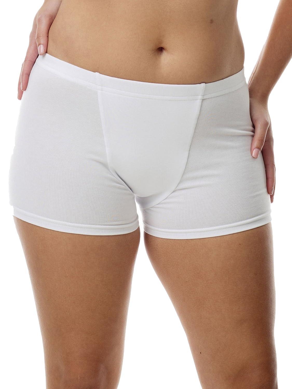 Underworks Women s Cotton Spandex Boxers Bloomers Boyleg Panties 3-Pack at  Amazon Women s Clothing store  Athletic Underwear 11d183d01e