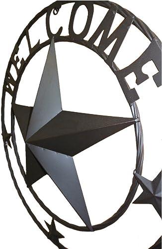 LL Home Metal Circled Star