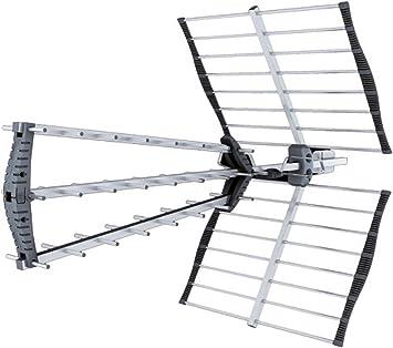 Antena Exterior UHF Hydra 45: Amazon.es: Electrónica