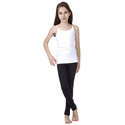a465f6a7b2dc17 Clothing CAOMP Girls%100 Organic Cotton Leggings for School Play Clothing,  Shoes & Jewelry