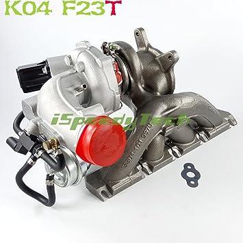 f23t K04 Billet Cargador de Turbo para Volkswagen EOS GTI, JETTA, Passat Audi A3 2.0 TFSI: Amazon.es: Coche y moto
