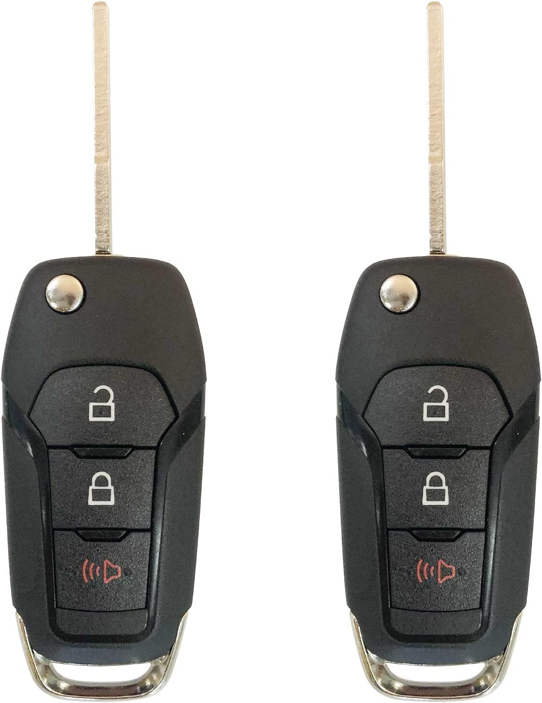 Replacement for  Ford F 150 250 350 Key Entry Fob Car Remote Start Non OEM